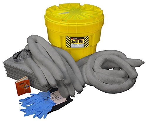 Buffalo Industries (92020) Universal Poly-Overpack Spill Kit, 20 Gallon
