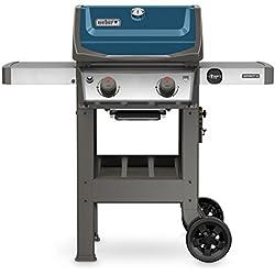 Weber 44020001 Spirit II E-210 Gas Grill LP Outdoor, Sapphire