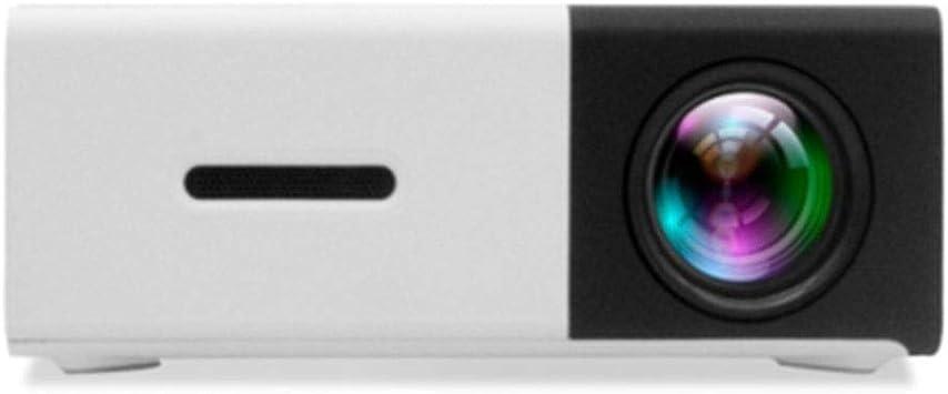 HongLianRiven Pequeño proyector portátil de casa: Amazon.es ...