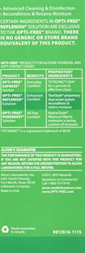 SHOPUS | Alcon Opti Replenish Solution, 4 oz