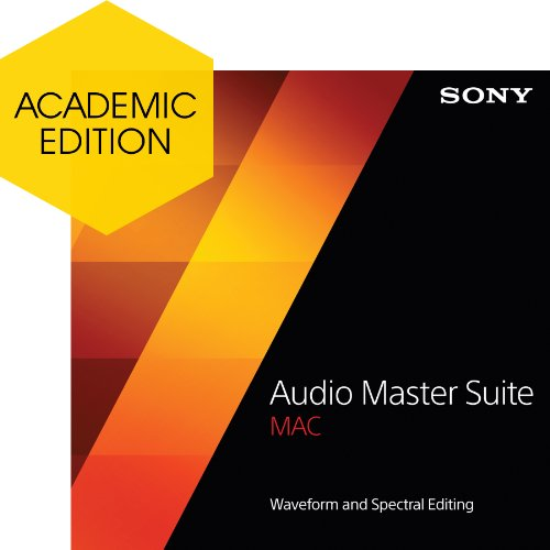 Sony Audio Master Suite Mac - Academic [Download] by Sony