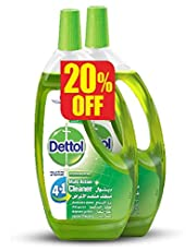 Dettol Multi-Action Cleaner with Pine Fragrance, 2 Pieces - 1.3 Liter