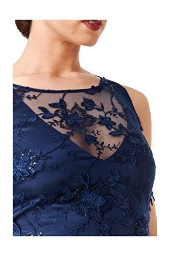 Kleid Goddiva Navy Damen Damen Kleid Goddiva Navy Goddiva gP6Sx