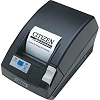 Citizen America CT-S281USU-BK-P CT-S280 Series Two-Color POS Data Thermal Printer with Cutter, 80 mm/Sec Print Speed, 32-48 Columns, USB Connection, Black