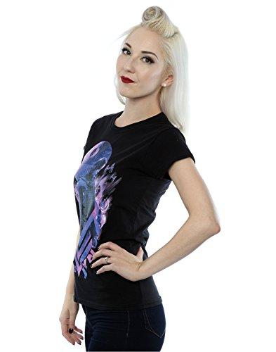 Star Wars mujer Rogue One Jyn Death Star Camiseta Negro