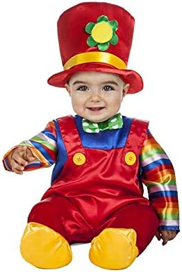 Disfraz de Payaso Flor para bebé: Amazon.es: Productos para mascotas