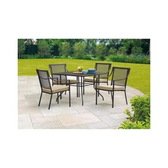 Mainstays Bellingham Outdoor 5-Piece Patio Furniture Dining Set, Seats 4 -  - patio-furniture, dining-sets-patio-funiture, patio - 41osAbyhmwL. SS570  -