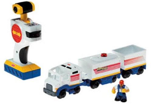Fisher-Price GeoTrax Rail and Road System: Hauler and Big Rob Fisher Price Geotrax Rail