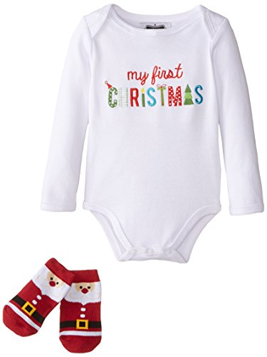 Mud Pie Unisex Baby Christmas Embroidered
