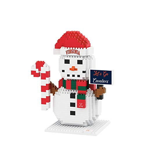 FOCO Virginia Cavaliers NCAA BRXLZ Snowman, one