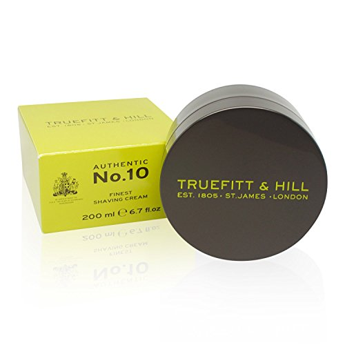 Truefitt & Hill Authentic No.10 Finest Shaving Cream, 6.7 Ounce by Truefitt & Hill