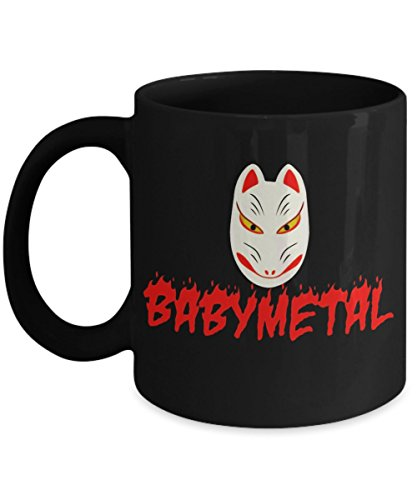 Babymetal Halloween - Funny Happy Halloween Day Coffee Mug Gift Coffee Cup Mugs - Halloween Great Gifts Idea for Men, Women, Kids, Mom, Dad, Son, Daug]()