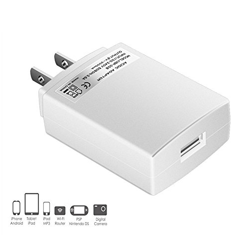 Power Adapter for iPhone X 8 7 6 Plus / Samsung / Huawei, fo