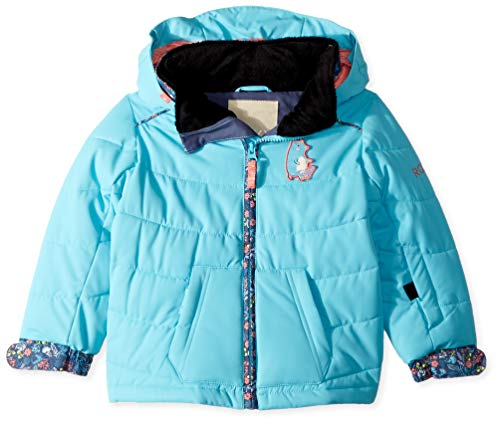 Roxy Girls' Toddler Anna Snow Jacket, Bachelor Button, 6/7