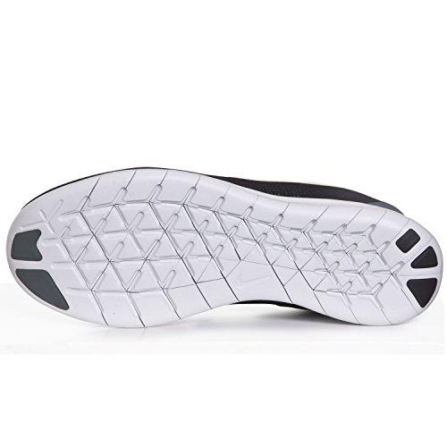 Nike Free Rn Noir / Hasta / Vert Lueur / Fantôme Vert Chaussures De Course Pour Hommes