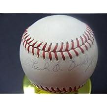 Charles O'Finley Signed Baseball - O Finley T87123 - PSA/DNA Certified - Autographed Baseballs