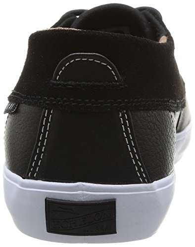 Lakai Camby Mid - Zapatillas de skateboarding para hombre Black Leather