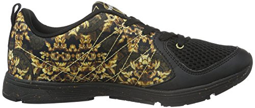 Desigual Shoes_x-Lite 2.0 G, Zapatillas Deportivas para Interior Mujer Negro (NEGRO2000)