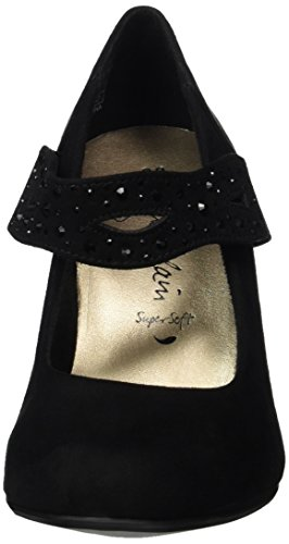 Jane Klain 224 986 - Tacones Mujer Schwarz (Black)