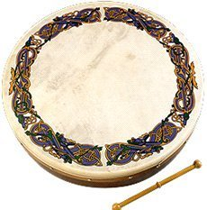 Waltons 8'' Brosna Cross Bodhran by Walton's @ 1to1Music