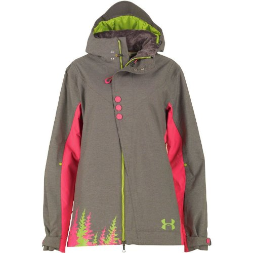 e5c265ba5a Under Armour Womens Cold Gear Armour Loft Snowmageddon Jacket Red ...