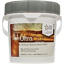 UltraCruz Equine Relief Supplement for Horses, 10 lb. Pellets (160 Day Supply)