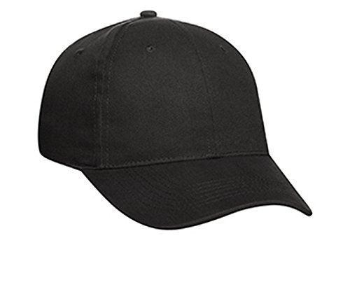 Hats & Caps Shop Promo Brushed Cn Twill Low Profile Pro Style Caps - Black - By TheTargetBuys
