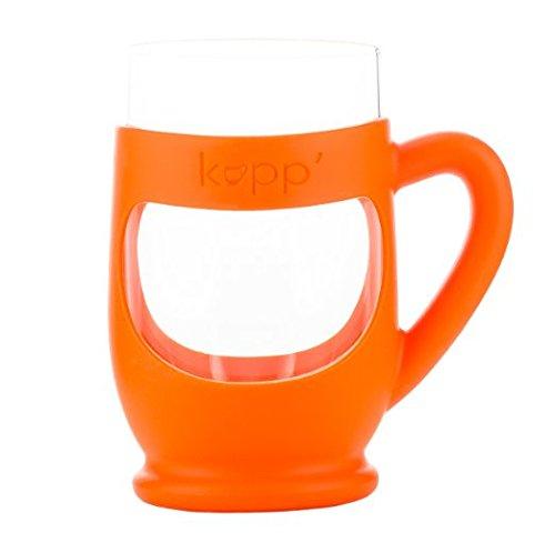 Kupp' Glass Drinking Cup for Kids Orange by Kupp'   B00M3F1K2M