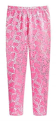 Hello Kitty Metallic-Print Leggings, Toddler Girls, 2T (Hello Kitty Leggings)