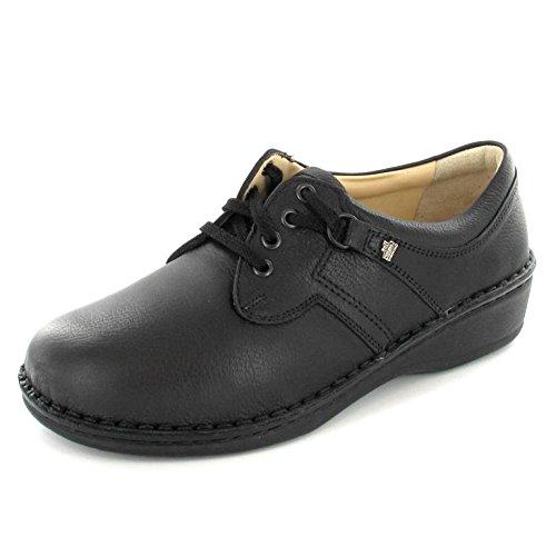 Finn Comfort Women's Black Leather Soft 96101 41 B(M) EU by Finn Comfort