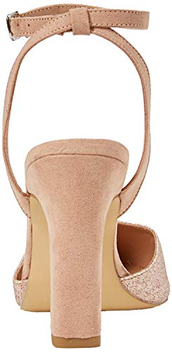 Tacco Foot Gold Donna Look Chiusa rose Wide Col Rolling New 94 Scarpe Punta WOYAfnqxgZ