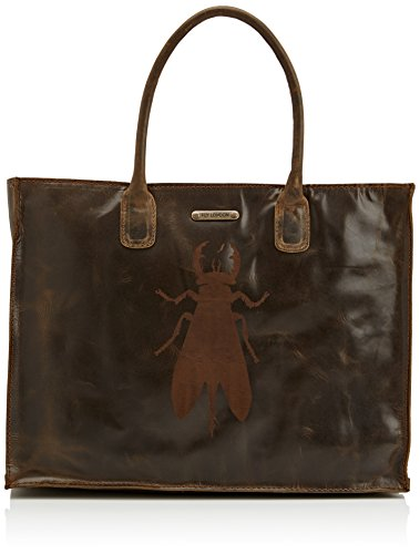 Fly London Bias Women's Tote Bag - Green (Olive), One Size