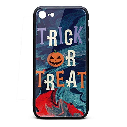 (Phone Case for iPhone 6Plus/6SPlus Trick or Treat Pumpkin Decoration TPU Protective Perfectly fit Anti-Scratch Fashionable Glossy Anti Slip Thin Shockproof Soft Case)