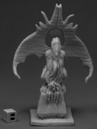 Cthulhu Miniatures - Reaper Miniatures C'thulhu Shrine 77523 Bones Unpainted RPG D&D Figure