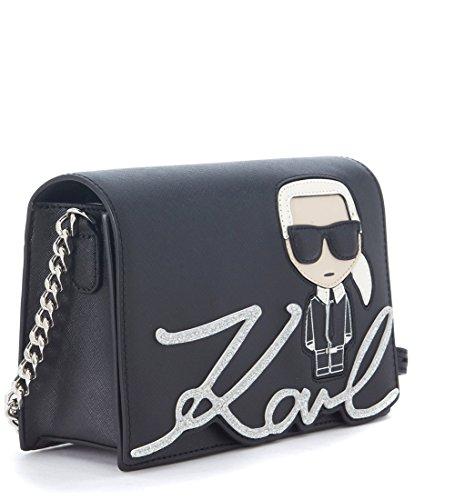 éstampe Lagerfeld à glitter Ikonik et Bandoulière Sac Karl avec UqpWFZHn