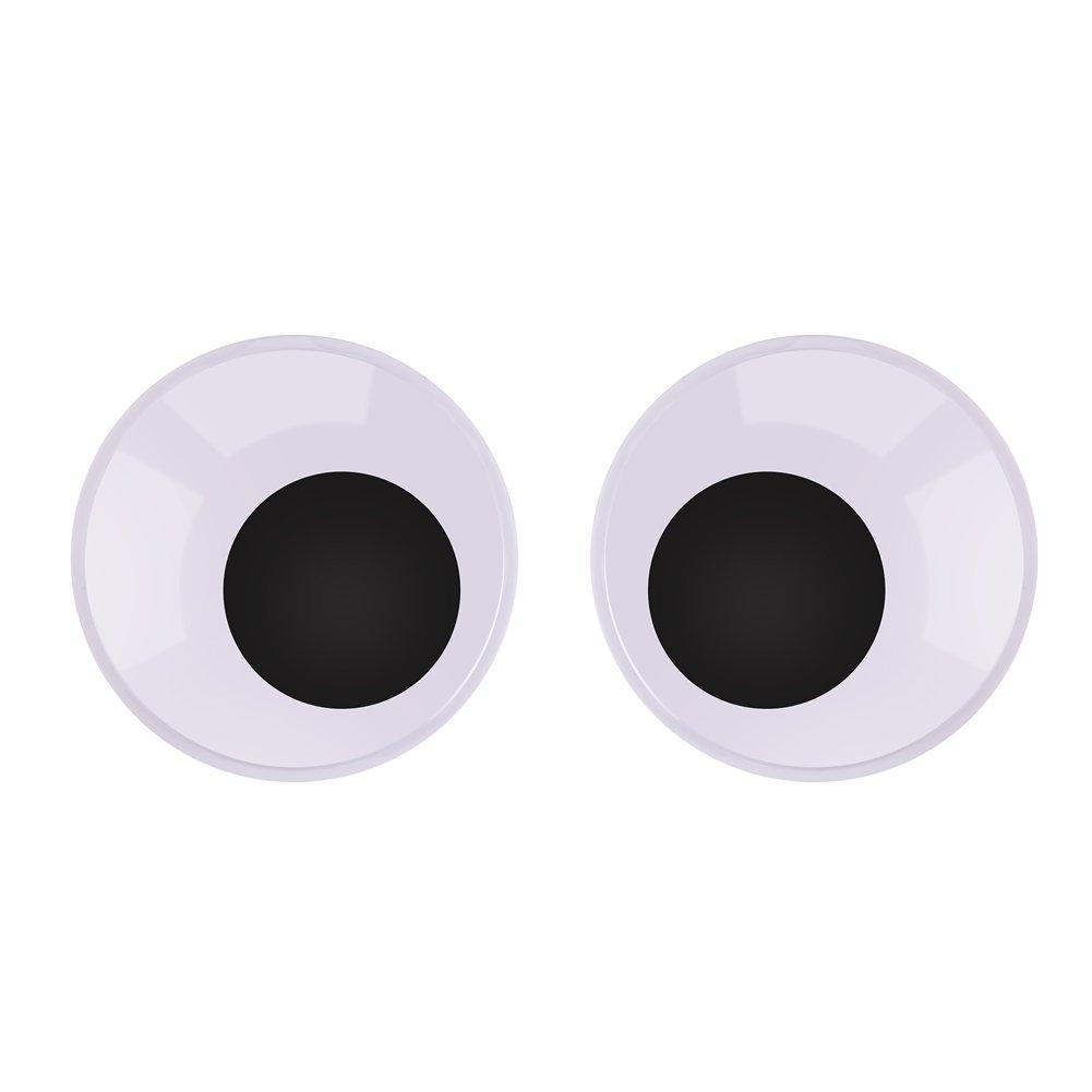 Black 60 Piece AC3437-02 Peel and Stick Wiggle Eyes 2