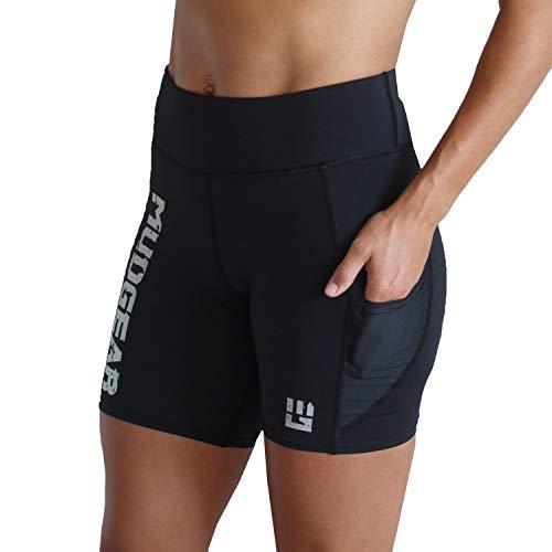 MudGear Womens Flex-Fit Shorts - Compression Stretch Running/Yoga