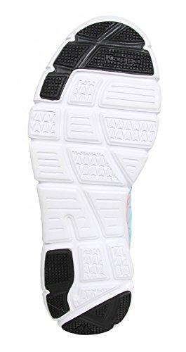 Scarpe sport per Uomo e Donna KAPPA 302X9B0 ULAKER C47 AZURE-ORANGE