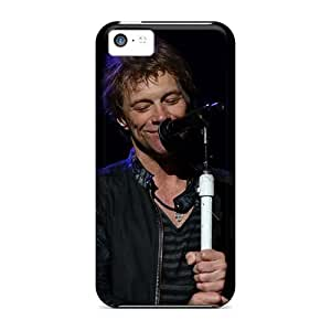 Excellent Hard Phone Cover For Iphone 5c With Support Your Personal Customized High Resolution Bon Jovi Band Pictures ChristopherWalsh