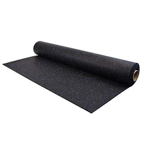 (IncStores 8mm Strong Rubber Gym Flooring Rolls Non-Slip Equipment & Protective)