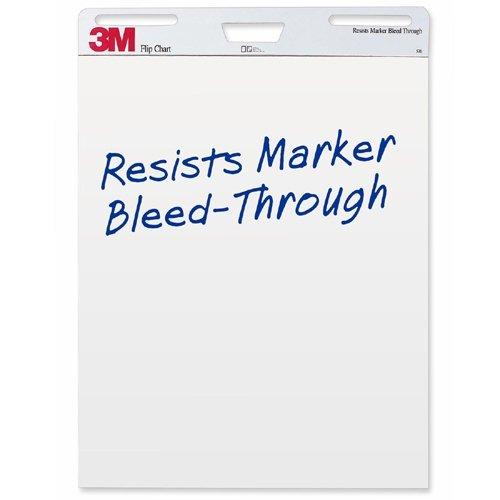 3M Flip Charts, 25''x30'', White, 40 Sheets/Pad, 2 Pads/Carton MMM570 by 3M