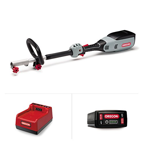 Oregon 40V MAX Multi-Attachment Powerhead R7 kit (no attachment, 6.0Ah Battery, Rapid Charger) by Oregon