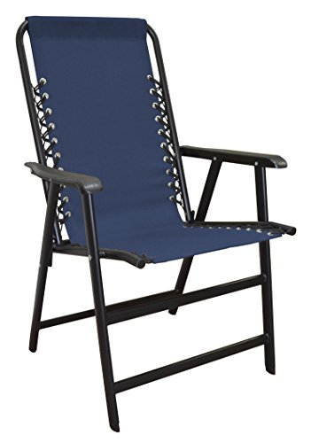 Caravan Sports Suspension Folding Chair, Blue