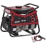 New Powermate Pmo101207 1200 Watt Portable Manual Start Gas Generator 99cc 120v