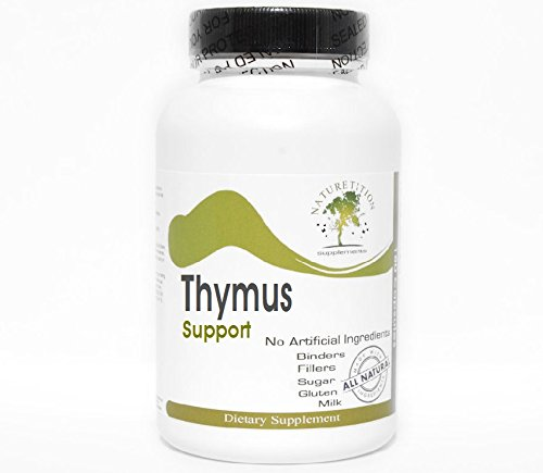 Thymus Support ~ 90 Capsules - No Additives ~ Naturetition Supplements by Naturetition Supplements