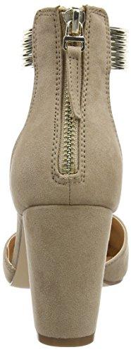 KG Women's Pumps Miss Ankle Strap Sailor Beige Camel SnOxCqzwx7