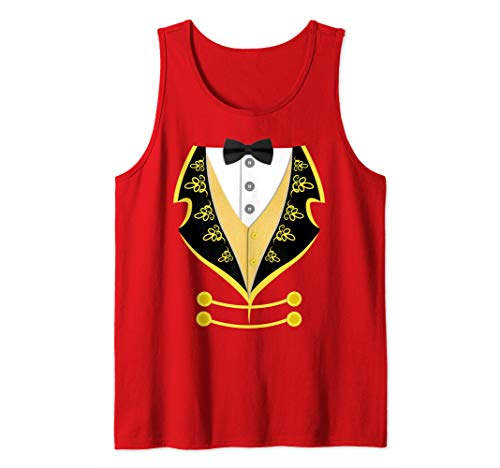 Ringmaster Shirt Circus Costume For Men Women Kids Tank Top ()