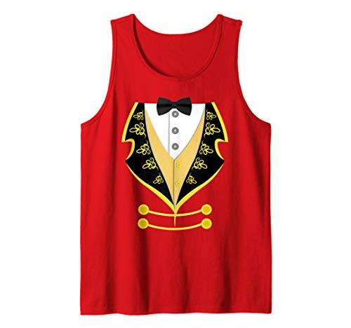 Ringmaster Shirt Circus Costume For Men Women Kids Tank Top