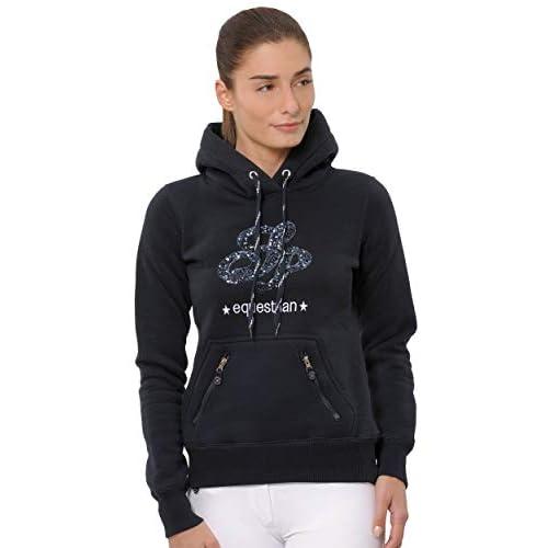 SPOOKS Pullover Awa Hoody Sequin Grey Größe XS XXL