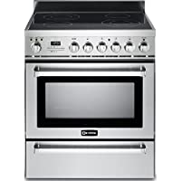 Verona VEFSEE304PSS 30 Electric Range with 3.6 cu. ft. European Convection Oven in Stainless Steel